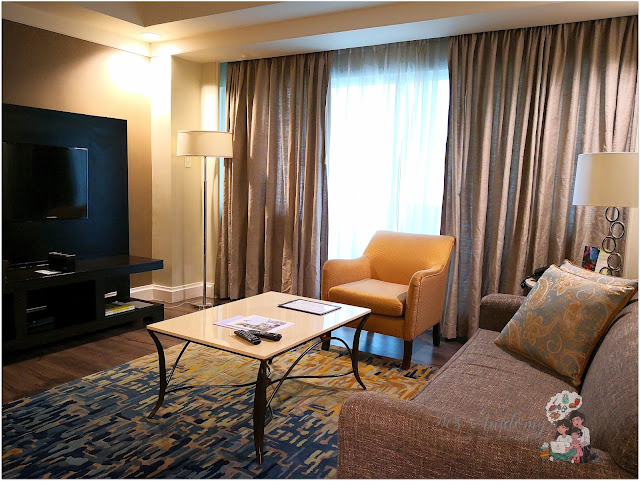 Somerset Millenium Makati Living Room TV