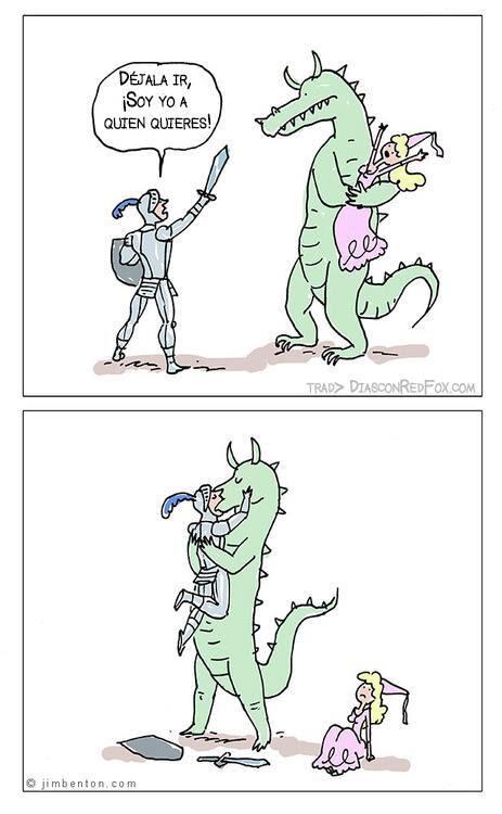 Meme de humor sobre Fantasía contemporánea