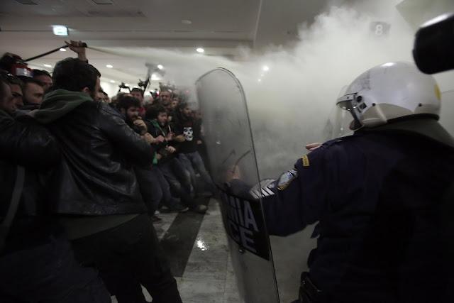 Ανακοίνωση του Δικηγορικού Συλλόγου Αθηνών για τα χθεσινά επεισόδια στο Ειρηνοδικείο Αθηνών