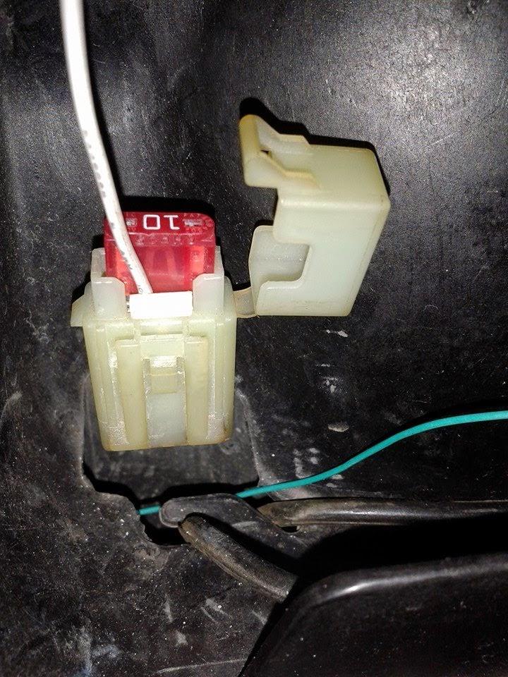 Pemasangan Output Pulser  Baterai Suzuki Shogun 125  codem2