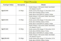 Harga Paket Indihome Unlimited Resmi Terbaru (PROMO)