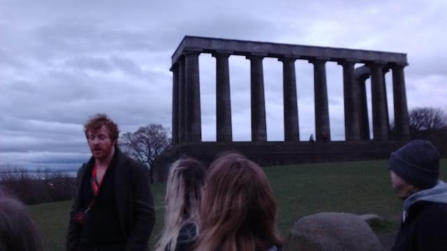 scottish national monument, edinburgh, Calton Hill, Sandemans New Europe Tours
