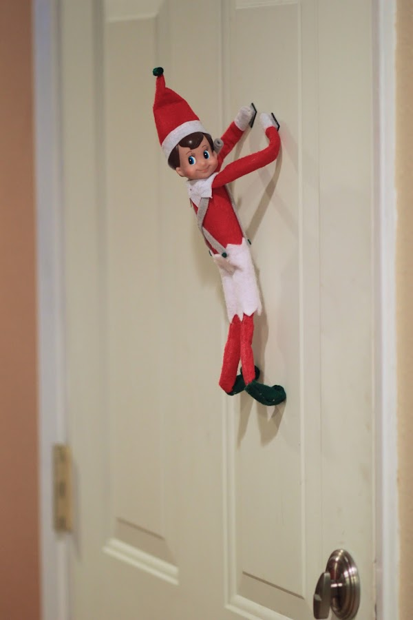 Watch Out For The Woestmans Elf On The Shelf Update