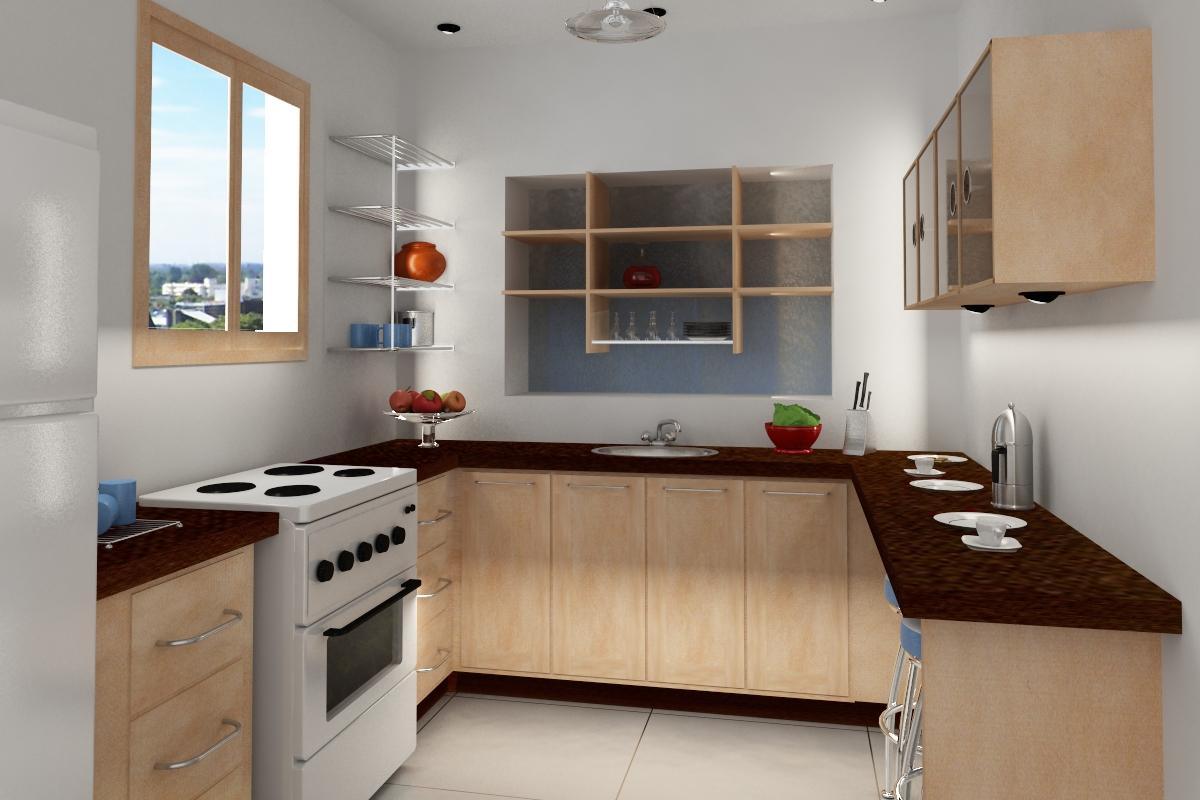 10 Desain Interior Dapur Rumah Minimalis Terbaru 2014