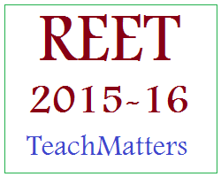 image : REET-2015 : Exam February 2016 @ TeachMatters