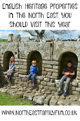 English heritage places to visit in the North East with kids