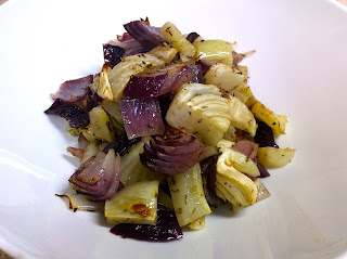 Roasted Fennel and Red Onions