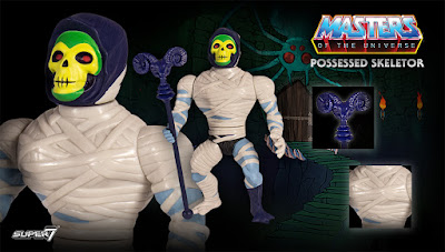 Masters of the Universe Curse of the Three Terrors Action Figures by Super7