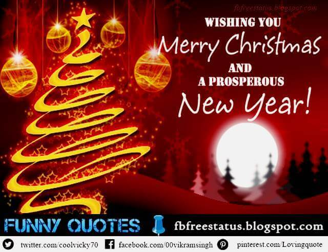 Christmas Wishes, New Year Messages