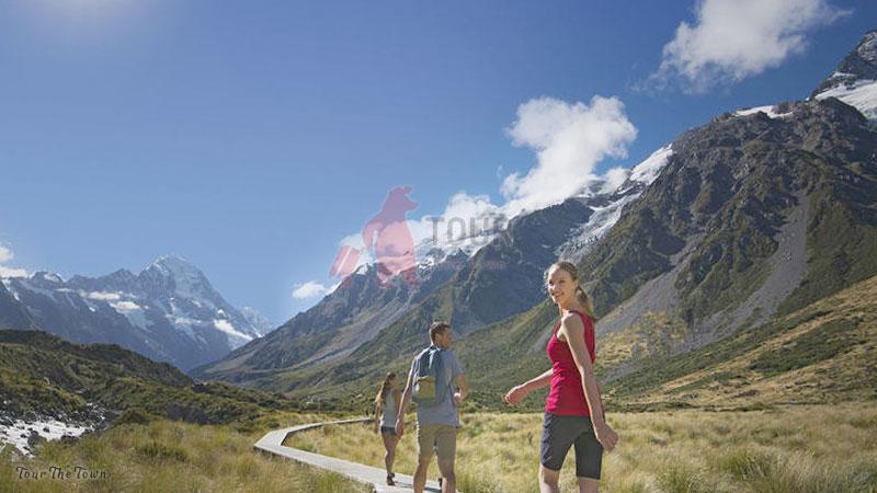 Mount Cook Canterbury Tourist New Zealand
