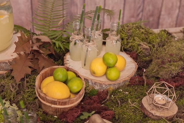 puesto limonada primera comunion bosque - la comunion de noa