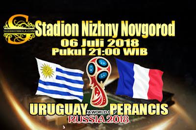 AGEN BOLA ONLINE TERBESAR - PREDIKSI SKOR PIALA DUNIA 2018 URUGUAY VS PERANCIS 06 JULI 2018