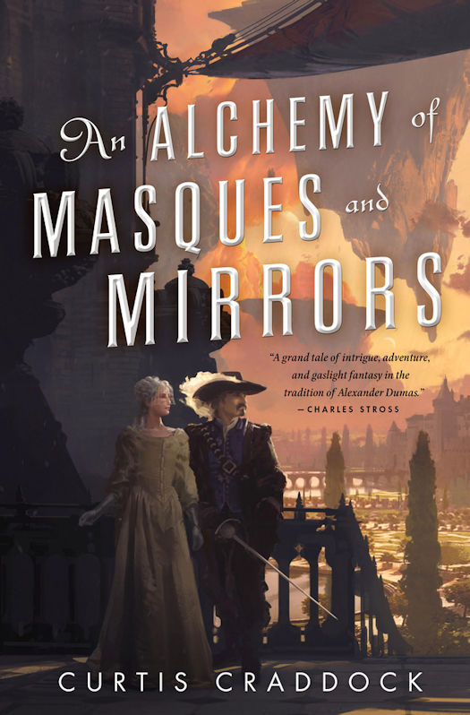 Interview with Curtis Craddock, author of An Alchemy of Masques and Mirrors