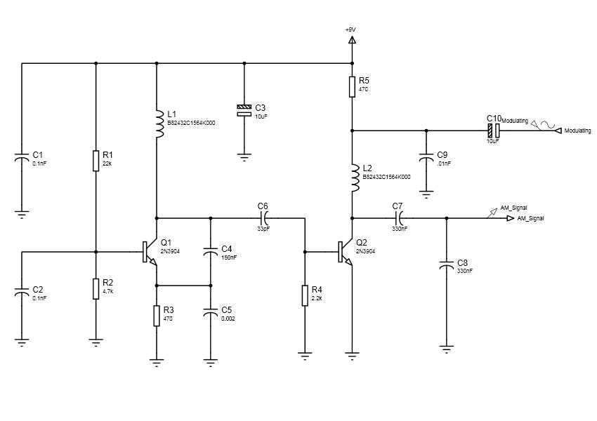 AM Circuit Design using Proteus | electronic2017
