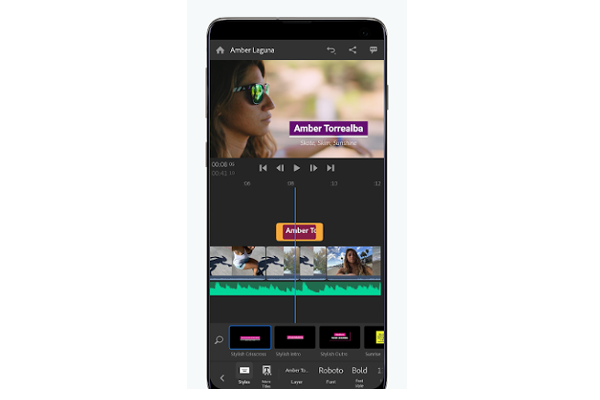 Adobe's Premiere Rush video editing app launches on Android
