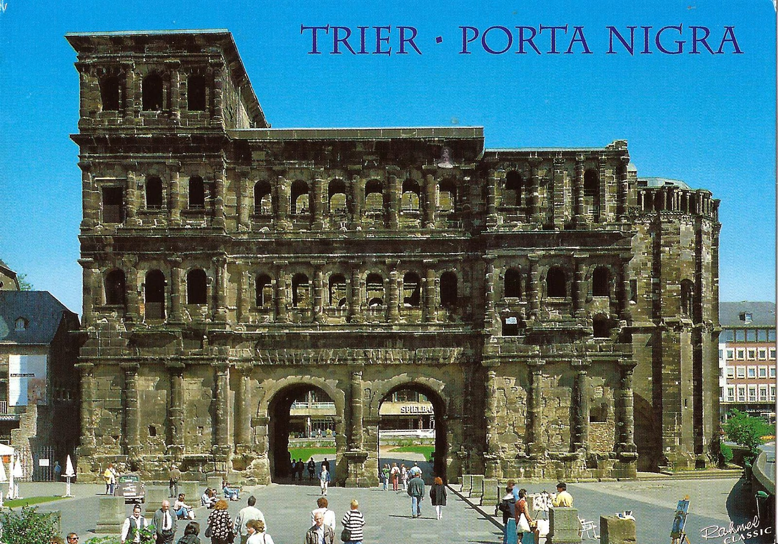 Roman Port in Trier Germany