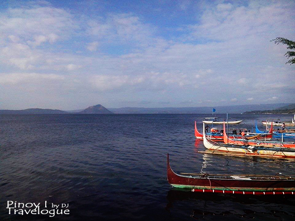 Boats along the shores of Talisay available for rent