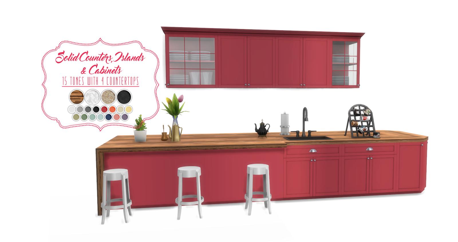 Sims  Kitchen Designs