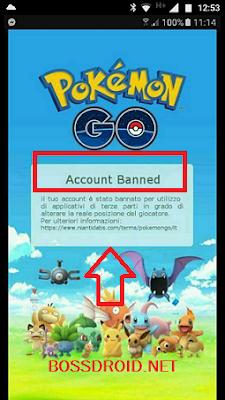 Cara Mudah Mengatasi Banned Permanent Akun Pokemon Go