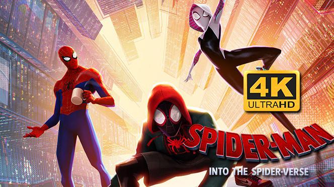 Spider-Man Un nuevo universo (2018) 4K UHD 2160p Latino-Ingles