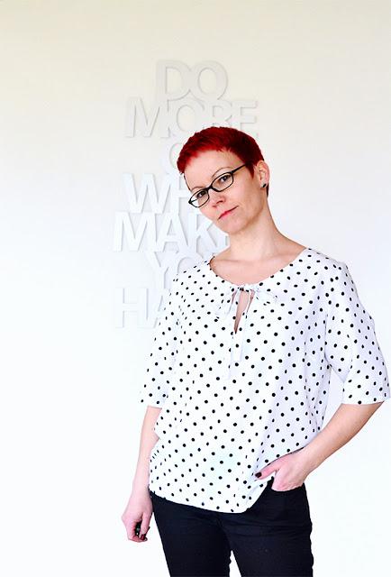 MMM mit der Bluse Pam aus der La Maison Victor @frauvau.blogspot.de
