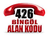 0426 Bingöl telefon alan kodu