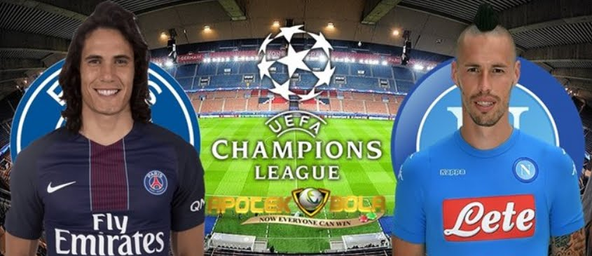 Dove Vedere NAPOLI PSG Streaming Video Diretta Champions League