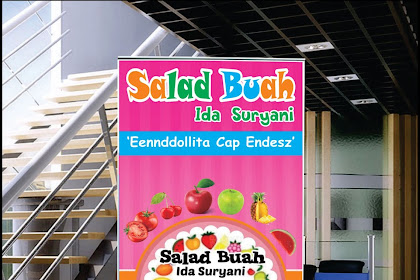 20+ Inspiration Contoh Banner Salad Buah