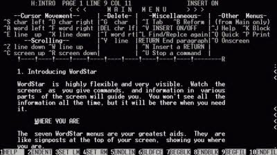 Game of Thrones, Thrones , WordStar 4.0, Game of Thrones written on WordStar 4.0, written on WordStar 4.0, games, George RR Martin, DOS ,