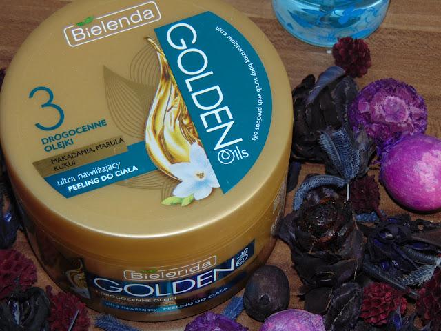 Bielenda, Golden Oils - Peeling do ciała ultra nawilżający