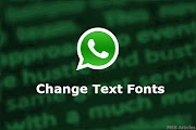 How to Change Text Font in WhatsApp