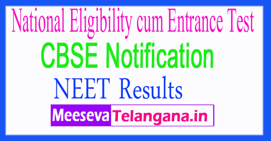 National Eligibility cum Entrance Test CBSE NEET PG UG Results 2018