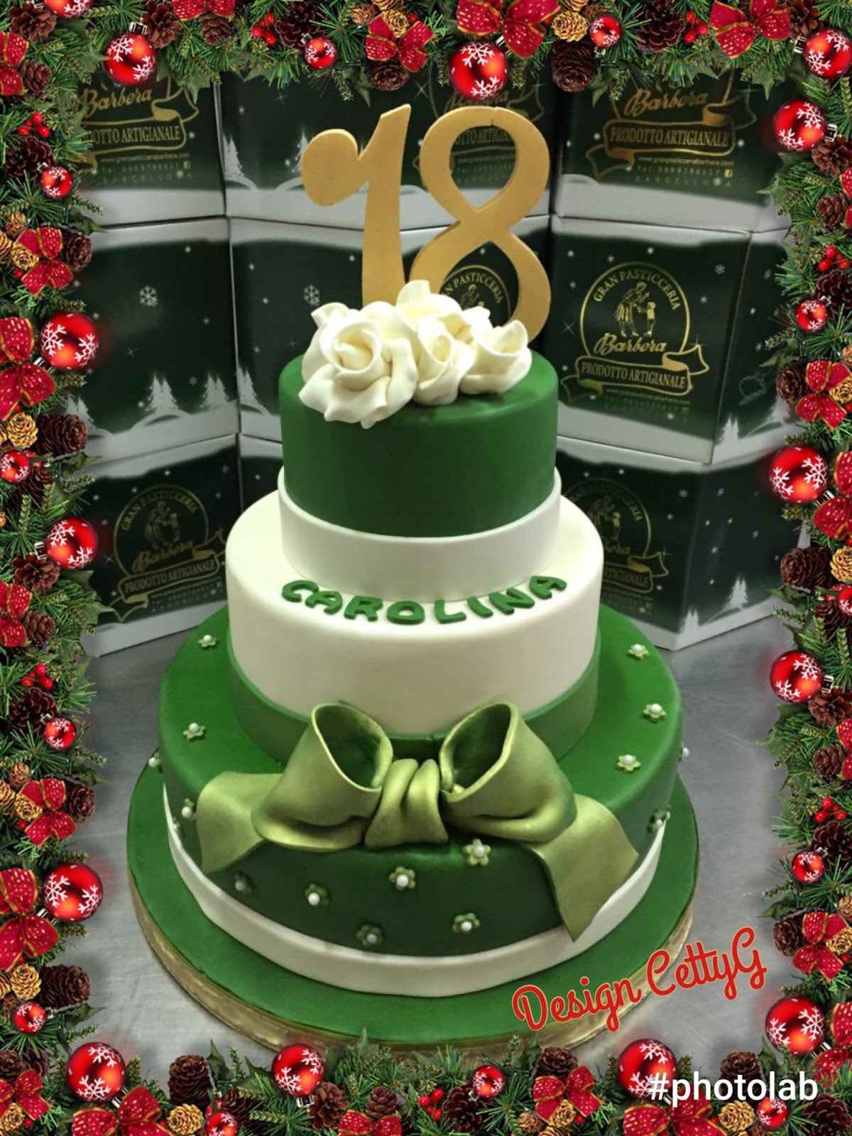 Le torte decorate di cetty g 18 compleanno for Torte 18 anni ragazzo
