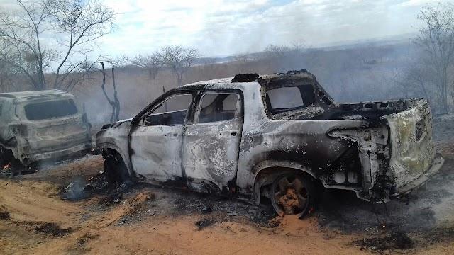 Quadrilha tenta atacar carros-fortes na estrada entre Iguatu e Icó