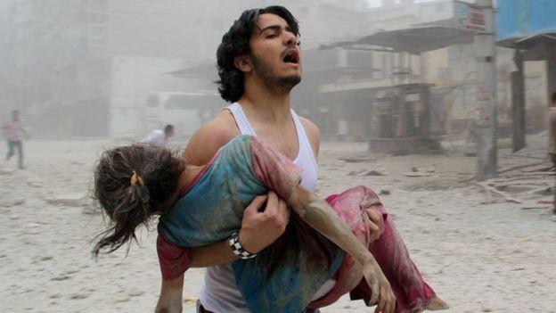 Syria Civil war started since 2011