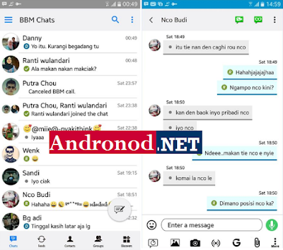 BBM Like iOS v3.2.5.12 Apk Terbaru