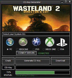 Wasteland 2: Director's Cut Key Generator (Free CD Key)