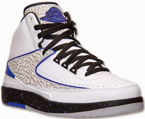 finest selection 1112a a7db6 Air Jordan 2 Retro White Dark Concord-Black-Wolf Grey Release Reminder