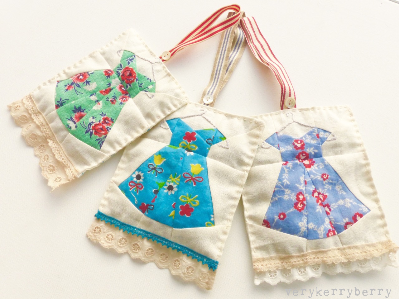Sew ichigo sew very christmas dress lavender bag tutorial Ideas for hanging backpacks