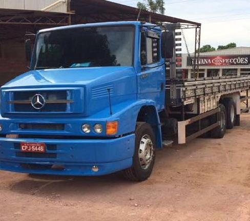 Caminhão Mercedes é furtado em Alta Floresta do Oeste