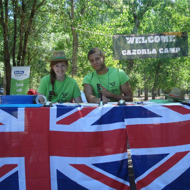 Inglés en la naturaleza con campamentos Berlitz