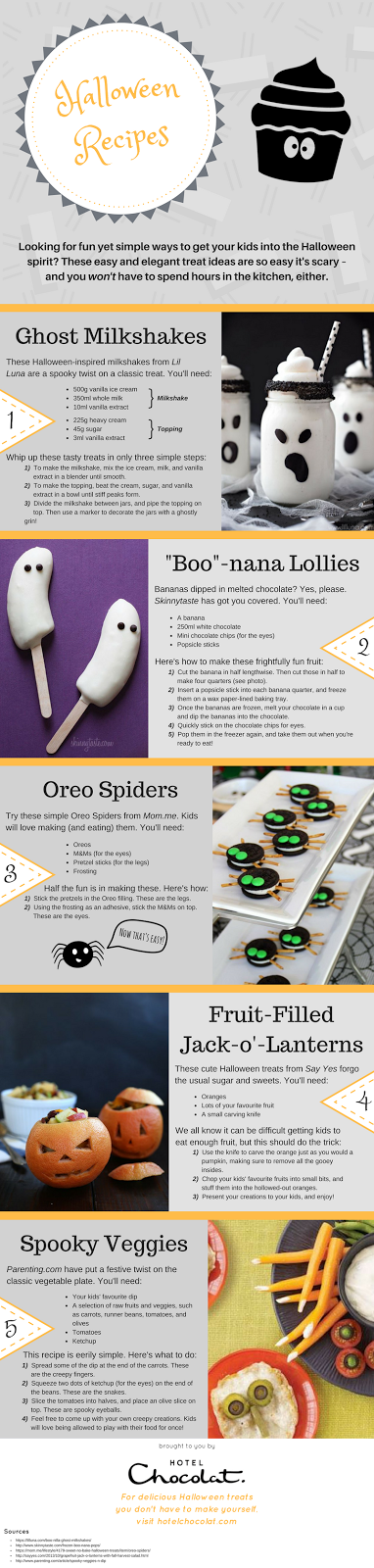 easy to bake halloween treats