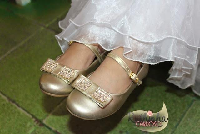 casamento daminha florista dama de honra matrimônio menina sapato pampili