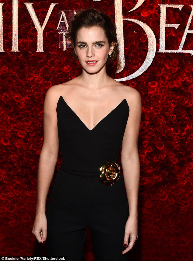 Emma Watson at Disney's 'Beauty and the Beast' World Premiere in LA