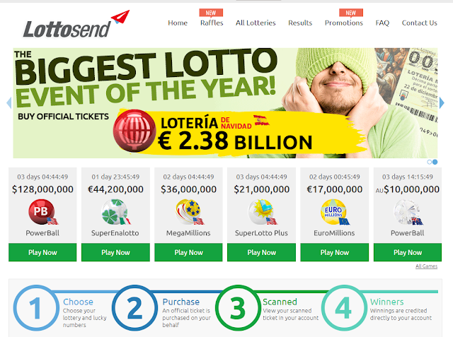 Lottosend [Lottosend.Com] Review