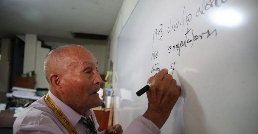 ALEJO HERMÓGENES RUIZ RUBIO: Tiene 89 años y quiere convertirse en universitario