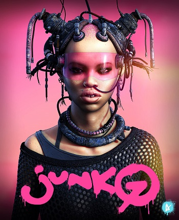 """JUNKO""- OOMOU characters by Andy Lee 