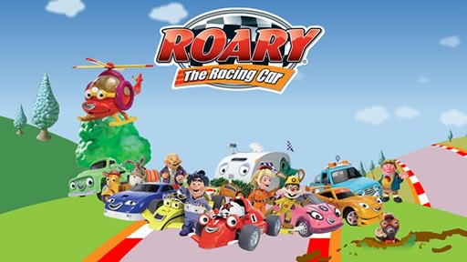 Roary The Racing Car Famous Cartoon