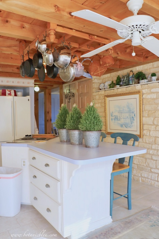 christmas-rosemary-trees-kitchen-island