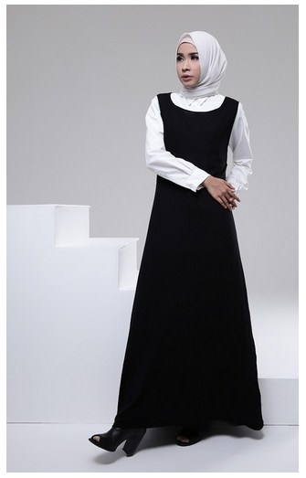 Trend Fashion Anak Muda 2016 15 Pilihan Model Gamis Muslim Modern